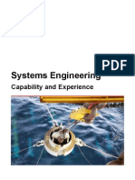 System Engineering Capabilities