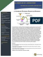 Self-Assembling, Reversible, Reagentless Biosensor