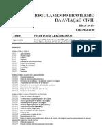 ANAC - PROJETO DE AERÓDROMOS