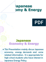 Japanese Economy & Energy