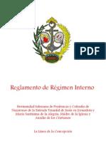 Entrada Triunfal Reglamento Regimen Interno