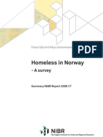 Homeless in Norway 2009