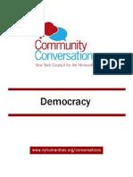 Community Conversations Democracy Toolkit
