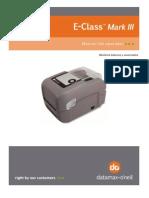 E-Class Mark III Printer Spanish Manual