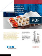 Eaton Solutions for Catalyst and Activated Carbon Removal in Active Pharmaceutical Ingredients