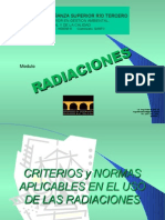 HUGO MARTIN ATOMICA CORDOBA RADIACIONES NORMAS Y CRITERIOS