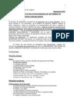 CONTENIDOS MÍNIMOS PARA LA CONVOCATORIA EXTRAORDINARIA DE SEPTIEMBRE DE HISTORIA DE LA FILOSOFÍA 2º BACHILLERATO