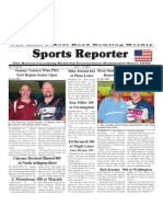 July 11 - 17, 2012 Sports Reporter