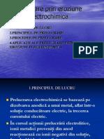Prelucrare Prin Eroziune Electrochimica