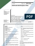NBR 11325 - Sistema de Lubrificação Ar-Óleo