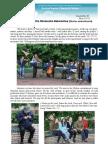 Evangelism on the Obolonska Naberezhna (Obolon embankment)