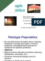 Patología Preprotética