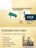 Empowerment Desarrollo Habilidades Directivas