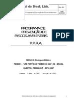 Ppra Tozzi Do Brasil 2011-2012 Rev.01