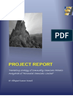 Project Report on Phthalic Anhydride of Thirumalai Chemical Ltd