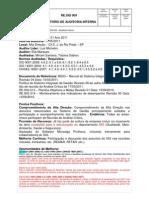 RE.SIG 009 - Relatório de Auditoria Interna ALTA DIREÇÃO.