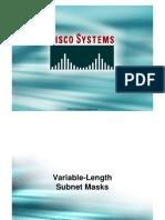 Variable-Length Subnet Masks