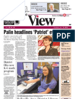 The Belleville View front page 07/12/2012