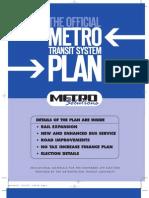 Metro Plan 2003