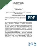 Acuerdo PSAA12-9221 por el cual se crean otros 2 Juzgados Administrativos de descongestión para Cali