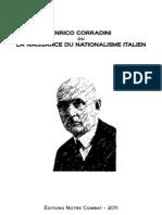 Doctrine Du Nationalisme-Enrico Corradini-Ou-la Naissance Du Nationalisme Italien