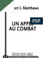 Matthews Robert J, LAppel de Robert J Matthews (2011)