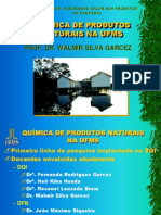 Quimica de Produtos Naturais Na Ufms