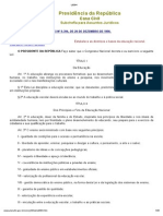 A LDB (Lei de Diretrizes e Bases da Educação, Lei 9394-1996)