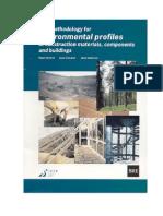 LCA _Environmental Profiles Methodology