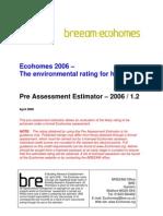 Eco-Homes _référentiel Breeam 2006
