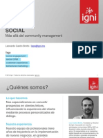 Más allá del Community Management