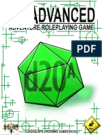 d20 Advanced Adventure Role Playing Game