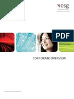 CSG International Corporate Brochure