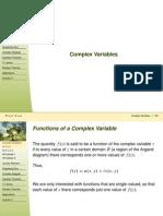 6 Complex Variables