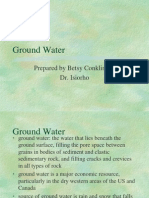 General Geology Groundwater Chapt 11