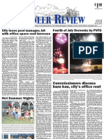 Pioneer Review, July 12, 2012