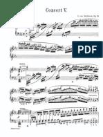 Beethoven Piano Concerto 5