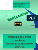 HUGO MARTIN ATOMICA CORDOBA RADIACIONES ICRP 103