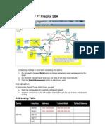 ERouting OSPF PT Practice SBA Answer 100