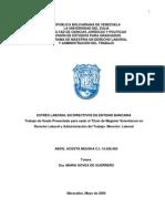 ESTRÉS LABORAL EN DIRECTIVOS DE ENTIDAD BANCARIA