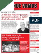 """Mensuario """"A Donde Vamos"""", Julio 2012"""