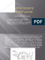 Compresores centrífugos