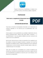 Mocion Intermunicipal Competencias Aytos.