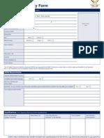 MBA Registration Form