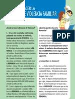 Guia Para Hacer La Denuncia de Violencia Familiar