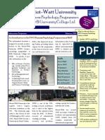 Business Psychology Brochure