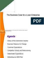 2. Business Case for a Lean Enterprise