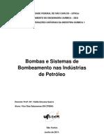 Bombas para a Indústria Petrolífera