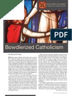 Bowdlerized Catholicism