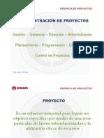 Proceso en la dirección de proyectos